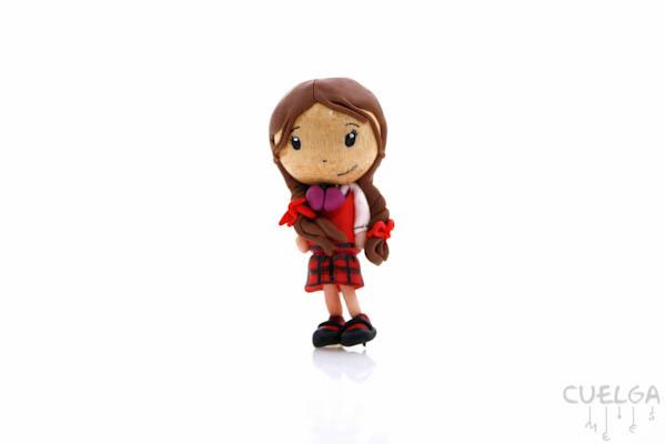 Muñecos Personalizados de Fimo Lucía Los Protegidos