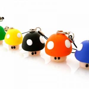 Muñecos de Fimo Setas de Colores