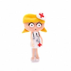 Broche Plano Enfermera