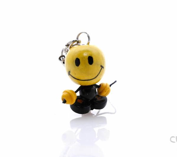 Muñeco de Madera Sonrisa Smiley