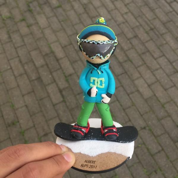Muñeco Snowboard Personalizado