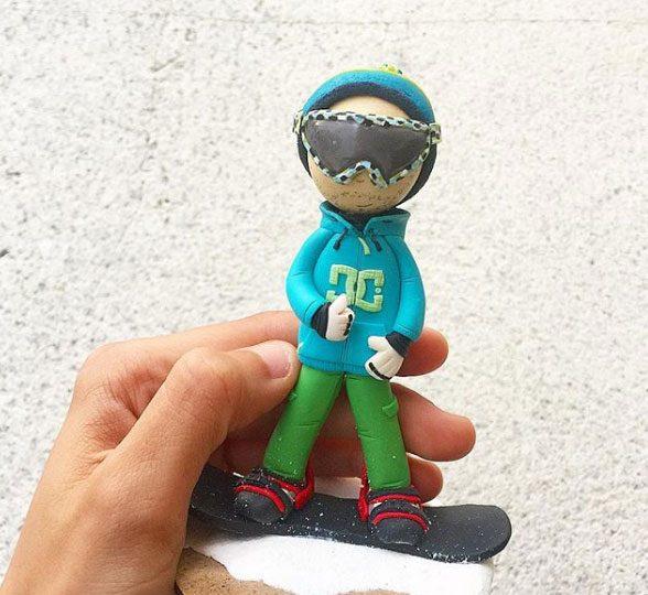 Muñeco Personalizado SnowBoard