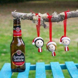 Muñecos de Navidad personalizados