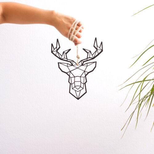 ciervo-madera-geometrico