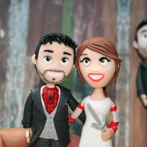 Figuras para la tarta de boda