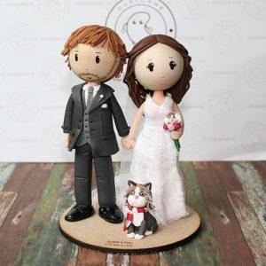 Munecos de boda personalizados