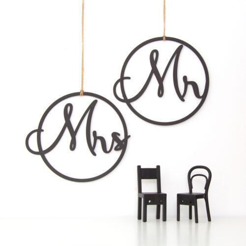 letreros silla boda
